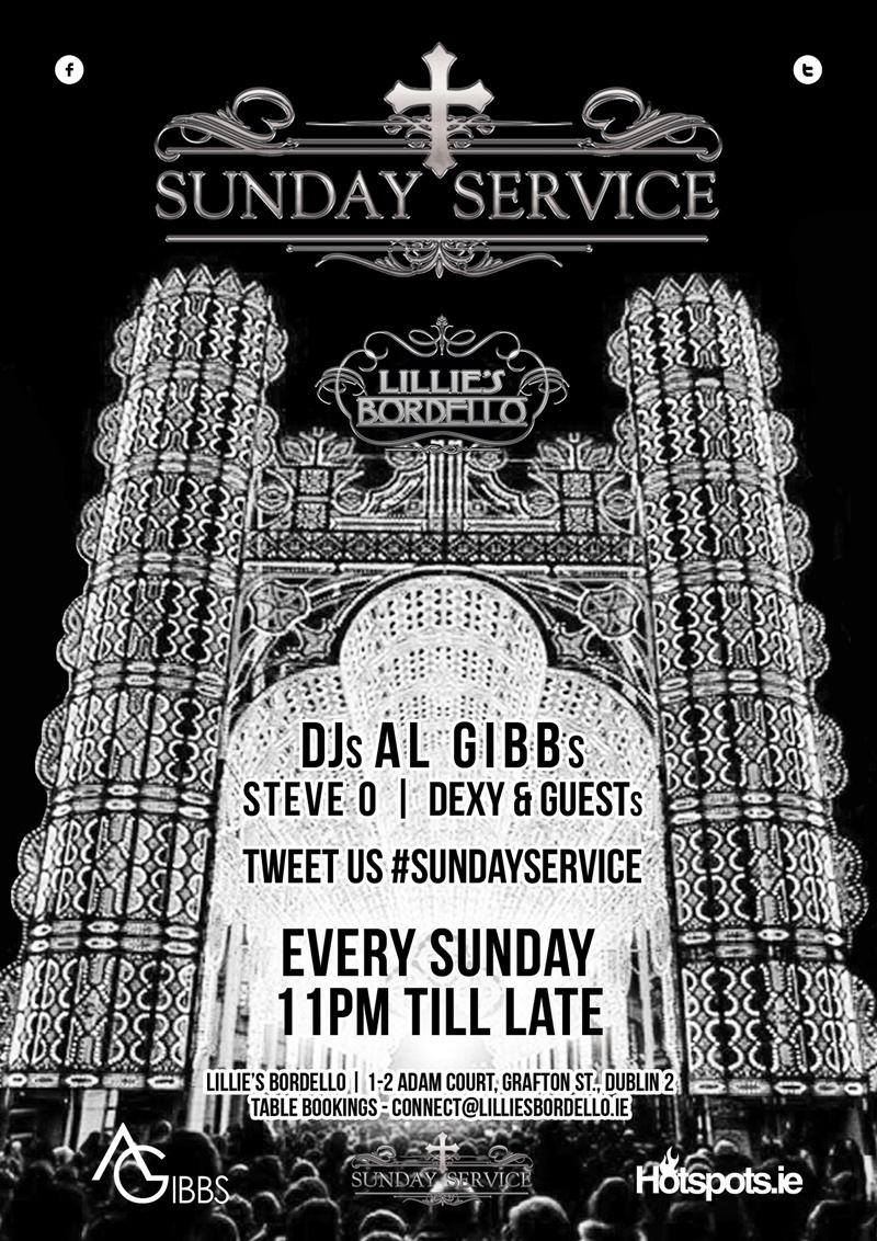 Sunday Service at Lillies Bordello